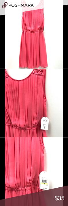 NWT pink Jessica Simpson Dress NWT Pink Jessica Simpson Dress Jessica Simpson Dresses Midi