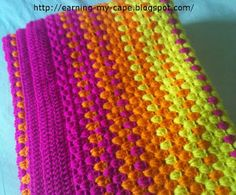 Earning My Cape: Granny Stripes Color-Burst Blanket (Free Crochet Pattern)