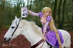 Rapunzel and Maximus by NikitaCosplay.deviantart.com