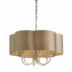 ARTERIORS Home Rittenhouse 6 Light Shaded Chandelier Finish: Antique Silver