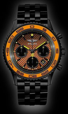 Watch What If Breitling Navitimer Watch What If - Stunde Breitling Navitimer, Breitling Watches, Breitling Chronograph, Amazing Watches, Beautiful Watches, Cool Watches, Dream Watches, Fine Watches, Men's Watches
