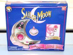 Sailor Moon Cosmic Crescent Jewel Box Bandai 1995 #Bandai