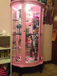 Monsterhigh Display Case