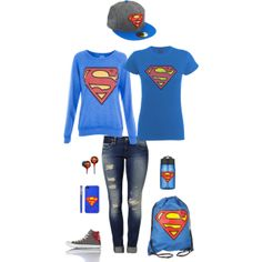 """""""Superman"""" by meredithpatterson on Polyvore"""