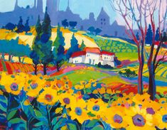 isabel le roux Painter Artist, Artist Painting, Abstract Landscape, Landscape Paintings, Landscapes, South African Artists, Shape Art, Naive Art, Artist Gallery