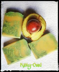 Avocado Seife Mango Seife diy selber machen Avocado Mango Hautpflege in Seife