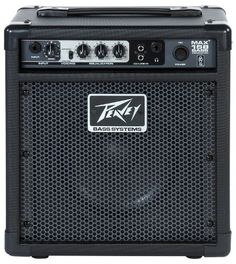 Peavey Max 158 15W Bass Amplifier by Peavey. $99.99. Amazon.com                  The MAX 158 combo bass amp is an awesome practice amp, designed for all levels of players. Whether you're just learning to play or warming up backstage, the MAX 158 is a great bass amp to own. Peavey has added exclusive TransTube technology giving you two separate voicing selections Vintage and Modern each with its own distinct tone. With 15 watts of power, low, mid and high EQ controls driv...