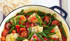 Healthy Fast and Easy Fish Rogan Josh with Campbell's Real Stock   Campbells Kitchen