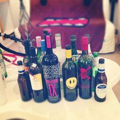 how we nyu students do. belvedere. wine. beer. sake. #alcohol #yummy @Charmaine Sum