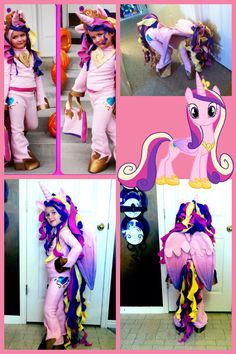 My little pony princess cadence Halloween costume