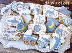 Baby Shower Cookies by Dany's Cakes | Cookie Connection