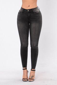 Charlotte Jeans - Black