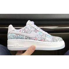 Nike Womens AF1 Upstep 35 Glass Slipper | puma slippers