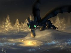 Goldfish ...  How to train your dragon, toothless, night fury, dragon,