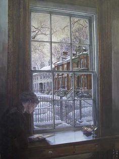 Fading Light, by watercolour artist Debra Tate-Sears