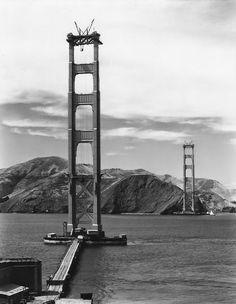 Construção da Ponte Golden Gate, 1935