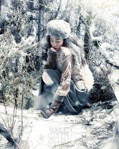 Snow Surrender, Vogue Girl January 2012