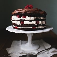chocolate rasberry cake