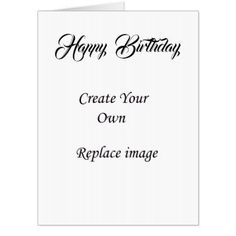 Create Your Own Custom Products Design Card