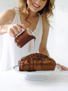 Chocolate Mascarpone Pound Cake by Giada De Laurentiis