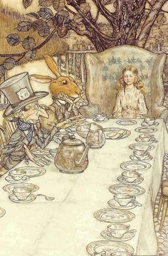 Arthur Rackham... Alice in Wonderland