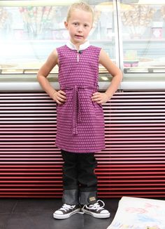 Redfish Kids Clothing Online Store - Camelia Dress in Purple