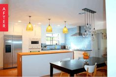 """Before & After: A """"Cozy Modern"""" IKEA Kitchen Remodel"""
