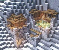 Plans Minecraft, Minecraft Farm, Minecraft Mansion, Minecraft Cottage, Easy Minecraft Houses, Minecraft House Designs, Minecraft Survival, Minecraft Decorations, Minecraft Construction