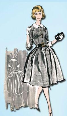 1960s Sew Easy Dress Pattern 1960 Advance Sewing Pattern Sz 36 B | eBay