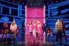 Mean Girls on Broadway Broadway Theatre, Musical Theatre, Broadway Nyc, Broadway Playbill, Beverly Hills, Regina George, Theatre Nerds, Romance, Tina Fey