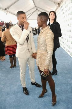 They are sooo cute .. I love the way she holds his hand .. micheal & lupita ..