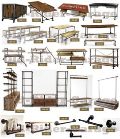 Old-rider-garagecom - Muebles Vintage Smart Furniture, Furniture Logo, Pipe Furniture, Steel Furniture, Furniture Design, Furniture Buyers, Furniture Online, Furniture Outlet, Vintage Industrial Furniture