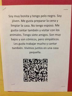 Geekie Teacher: QR Codes in Spanish Class