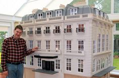 This is gorgeous,  a replica house scaled down to a small size