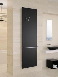 Varela Design - Radiateurs (central) Decorative Radiators, Bathroom Gadgets, Multipurpose Furniture, Designer Radiator, Powder Room, Bathroom Accessories, Tall Cabinet Storage, Home Furniture, New Homes