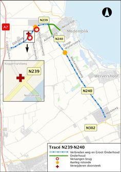 Medemblik - De Westerzeedijk (N239), tussen de A7 en Medemblik, en de Markerwaardweg (N240), tussenMedemblik en Hoogkarspel, zijn toe aan groot onderhoud. De provincie combineert het groot&nb...