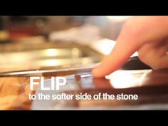 Mario Batali Presents: How to Sharpen a Knife - Sharpen Knives with a Whetstone to Keep Your Blades in Top Condition Cooking 101, Cooking Videos, Cooking Recipes, Japanese Water, Mario Batali, Food Tech, Food Wishes, Knife Sharpening, Kitchen Hacks