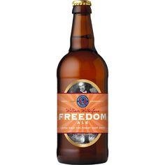Cerveja William Wilberforce Freedom Ale, estilo Special/Premium Bitter, produzida por Westerham Brewery, Inglaterra. 4.8% ABV de álcool.