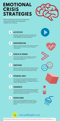 Emotional Crisis Skills and Strategy (Infographic)