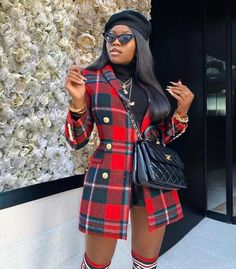 Dressy Outfits, Dope Outfits, Girl Outfits, Fashion Outfits, Black Girl Fashion, Look Fashion, Winter Fashion, Fashion Styles, Fashion Ideas