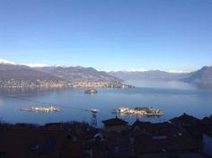 view from the hills - Lago Maggiore - Italia