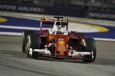 """セバスチャン・ベッテル、F1シンガポールGPの""""ドライバー・オブ・ザ・デー""""  [F1 / Formula 1]"""