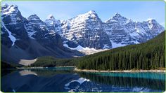 Canada's oldest national park is Banff, Alberta, contains glaciers, ice fields, forests and mountains. Centered around hot springs discovered in 1883 by railway construction workers, Banff is one of the World's most visited national parks, and is also a UNESCO World Heritage Site