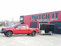 Tulsa Trailer Parts Shop, Tulsa Trailer Sales Hitch It Trailer Sales, Trailer Parts, Service & Truck Accessories 5866 S. 107th E. AVE TULSA, OKLAHOMA 74146 918-286-7900 www.HitchItTulsa.com Trailer Sales, Trailer parts, Trailer service repairs & Truck accessories.  Haulmark & Lark Enclosed Cargo Trailers, Tiger, BIG TEX & Rice Utility, Tilt, Dump & Gooseneck Trailers. We can repair and service your utility, cargo trailers.  We have a FULL inventory of all TRAILER PARTS!  www.918Trailers.com