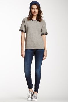 Nico Mid Rise Super Skinny Jean by HUDSON on @HauteLook