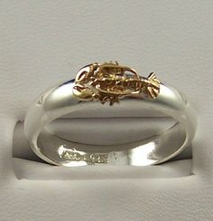14k Gold and Sterling Silver Stacking Lobster by tiposcreations, $89.95 #JoesCrabShack