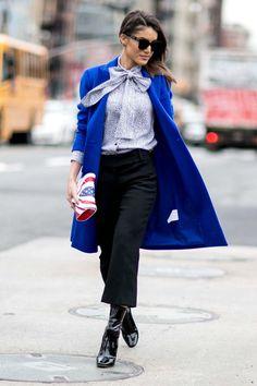 Recopilamos las mejores propuestas a las puertas de los desfiles. Street style made in New York.