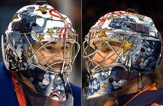 NHL Goalie Masks By Team | NHL Goalie Masks by Team (2009-10) - Rick DiPietro | Sports ...