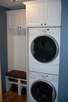 top laundry room ideas stacked washer dryer with laundry room