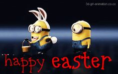 Happy Easter minion www.fitnesspod.im